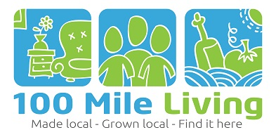 100 Mile Living - Made Local. Grown Local. Find it Here.
