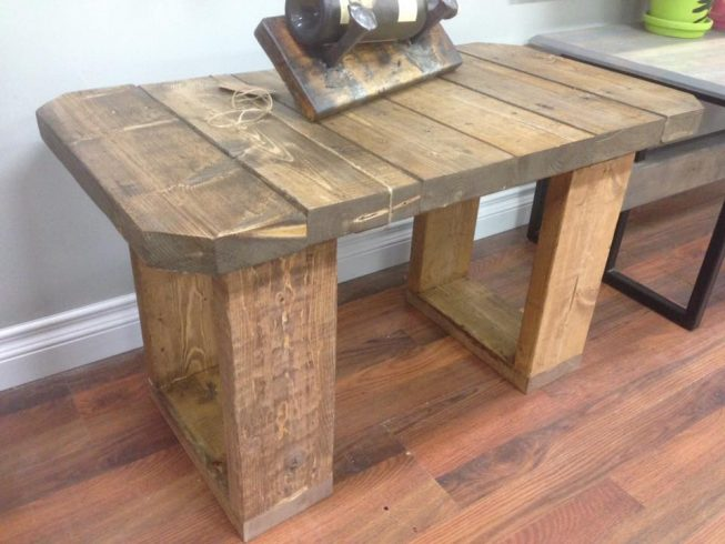 Rustic Bench - Image 1