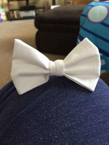Suspenders & Bow Tie