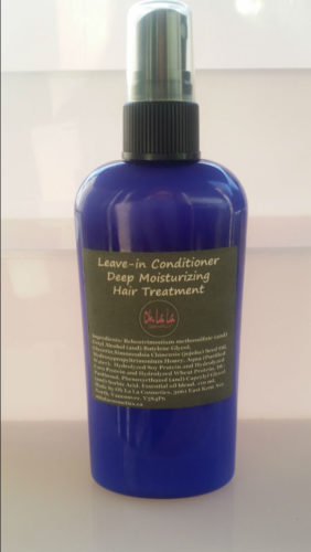 Leave-In Conditioner- Deep Moisturizing Hair Treatment