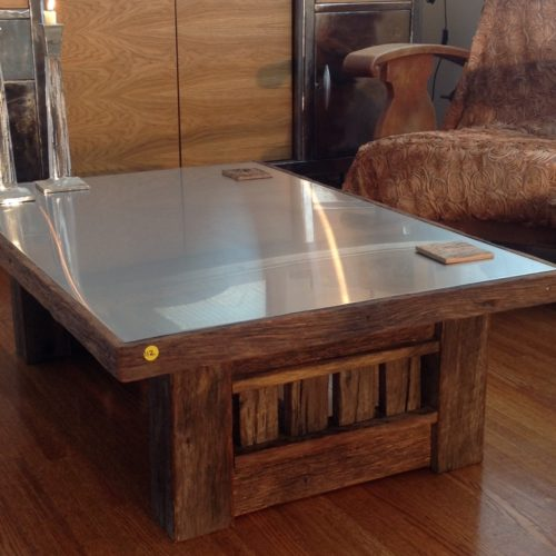 Steel topped Coffee Table