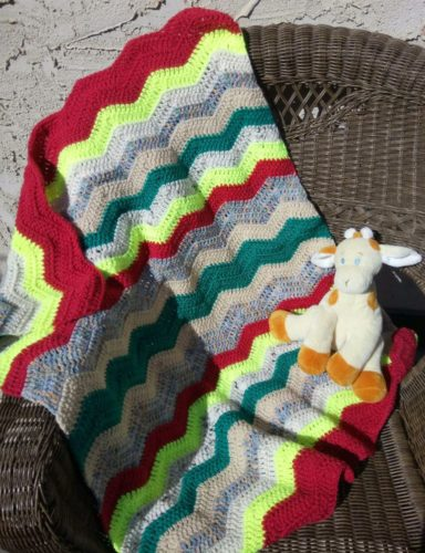 Crocheted Lap or Baby Blankets