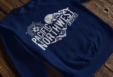 pnwlifestyle rugged adventure crew neck
