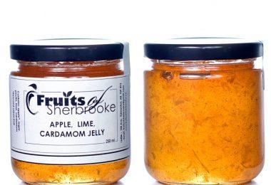 Lime Cardamom Apple Jelly B c