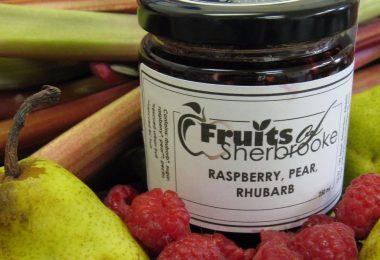 Raspberry Pear Rhubarb