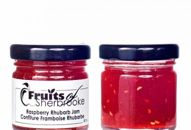 Raspberry Rhubarb Jam c