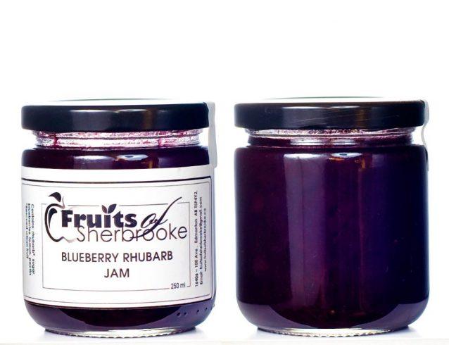 Blueberry Rhubarb Jam 2 c