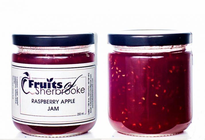 Raspberry Apple Jam c
