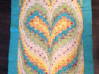 Baby  Heart Bargello 38x49