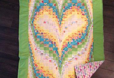 Baby  Heart Bargello 37x47