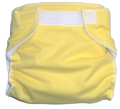 Baby Love All-in-One Cloth Diaper – Yellow