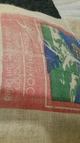 Guatemala coffee sack