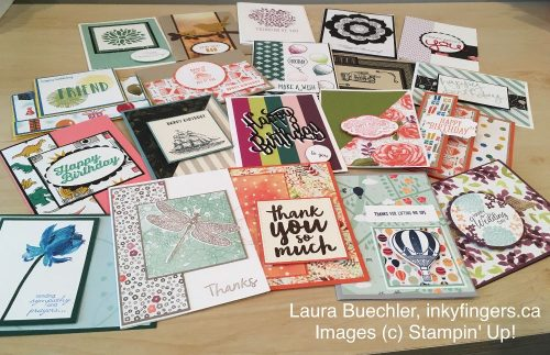 One Year's Supply of Handmade Cards