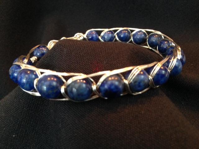 Lapis Lazuli Wire Wrap