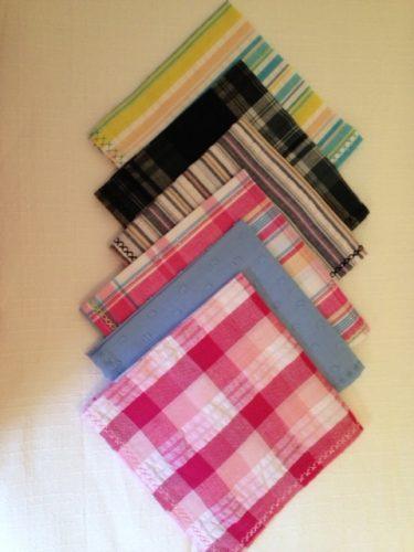Handmade 100% Cotton Handkerchiefs