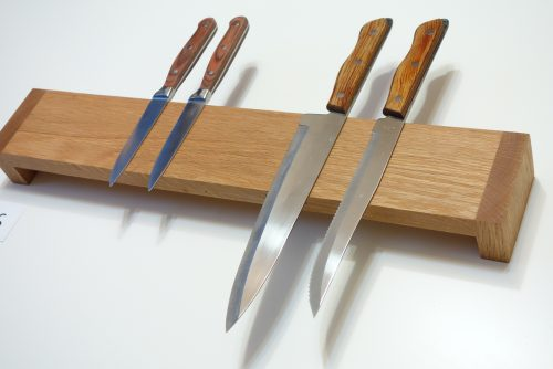 Handmade Knife Storage – Blocks or Strips – Magnetic, Hardwood