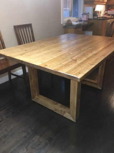 Handmade Rustic Dining Table!