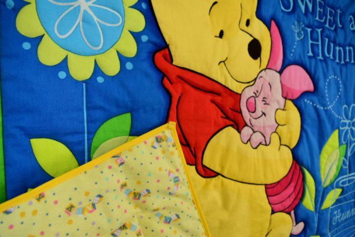 Winnie the Pooh Baby Crib Quilt - Image 3