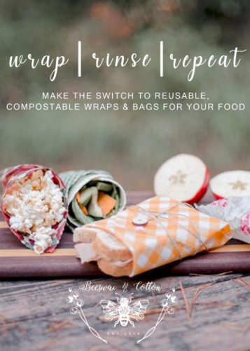 Beeswax & Cotton Food Wraps