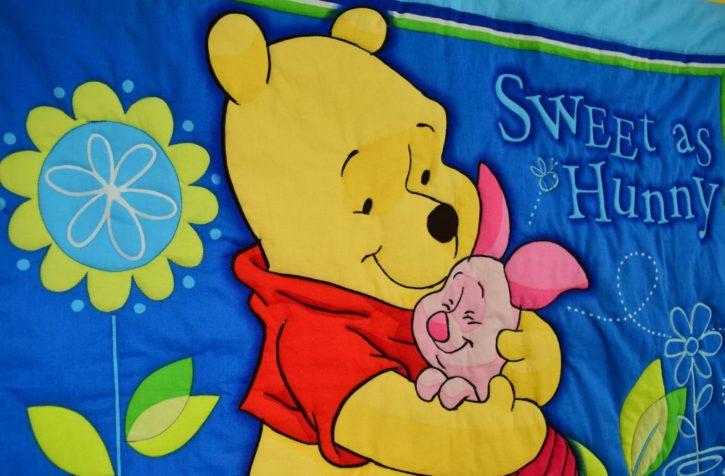 Winnie the Pooh Baby Crib Quilt - Image 2