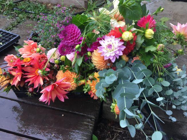 Seasonal Fresh Flower Bouquet - Image 3