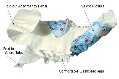 Baby Love All-in-One Cloth Diaper – Royal - Image 5
