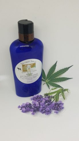Hemp goats milk lotion