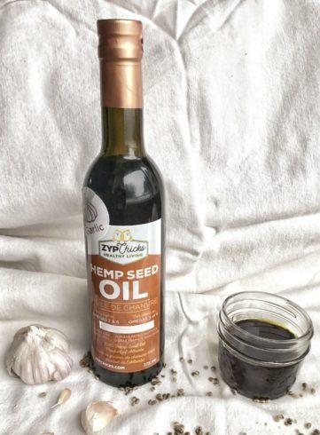 Garlic Hemp Oil