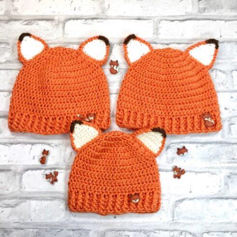 Baby Fox Hat 1
