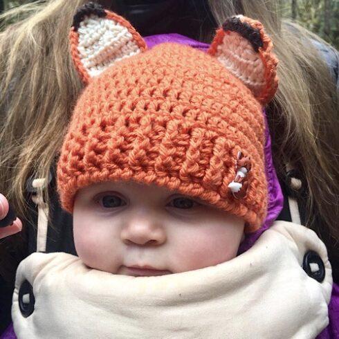 Baby Fox Hat 2