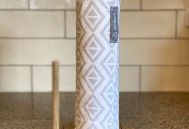 Grey Geometric Unpaper Towels