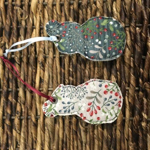 Snowman Ornament/Set of Two - Image 5