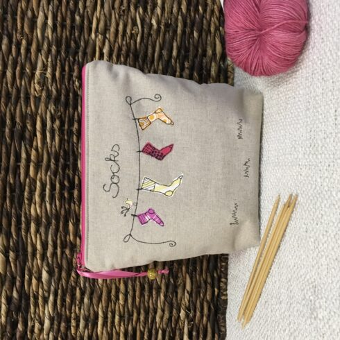 Knitting Project Bag - Image 7