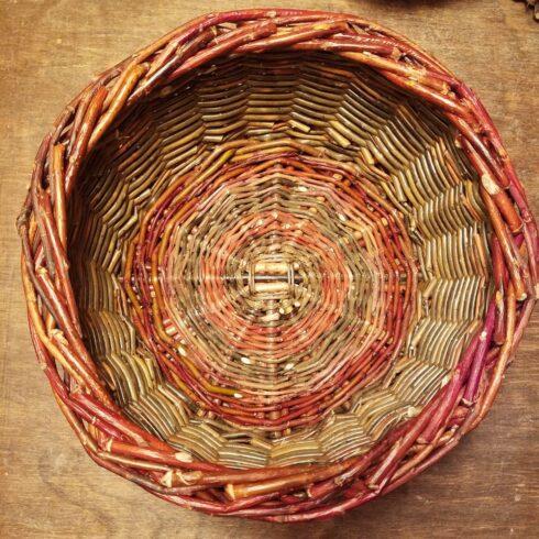 20210115_Basic Round Willow Basket