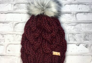 Maroon Winter Hat