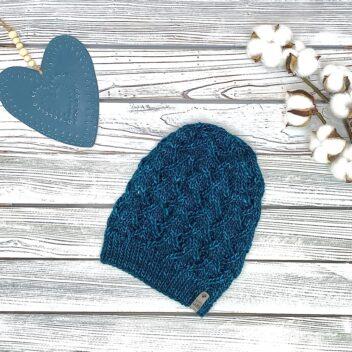 Turquoise Winter Hat