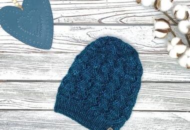 Turquoise Winter Hat
