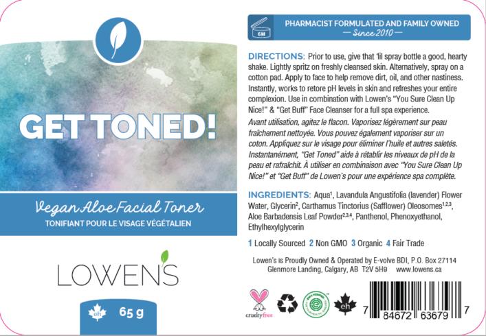Get Toned! - Label