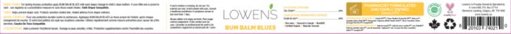 Bum Balm Blues - Side Label